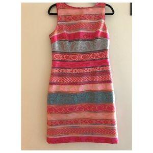 Chetta B silk intricate dress